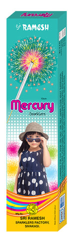 Mercury 10 cm Sparklers (Set of 5 Boxes)