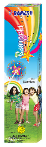 Rangoli Collections - 30 cm Sparklers (Set of 3 Tubes)