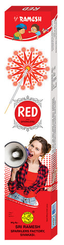 Red 12 cm Sparklers (Set of 5 Boxes)