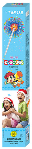 Spice Electric 15 cm Sparklers (Set of 5 Boxes)