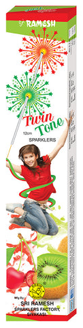 Twin Tone 12 cm Sparklers (Set of 5 Boxes)