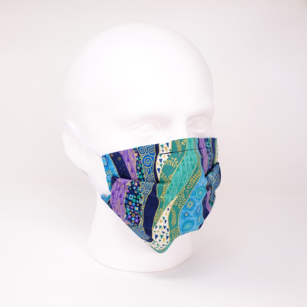 Arabian Nights Pleated Face Mask
