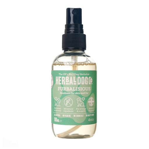 Herbal Dog Co Furbulous Baby Powder Natural Deodoriser