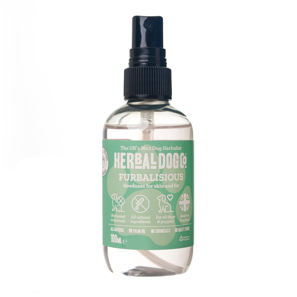 Herbal Dog Co Furbulous Black Pomegranate Natural Deodoriser