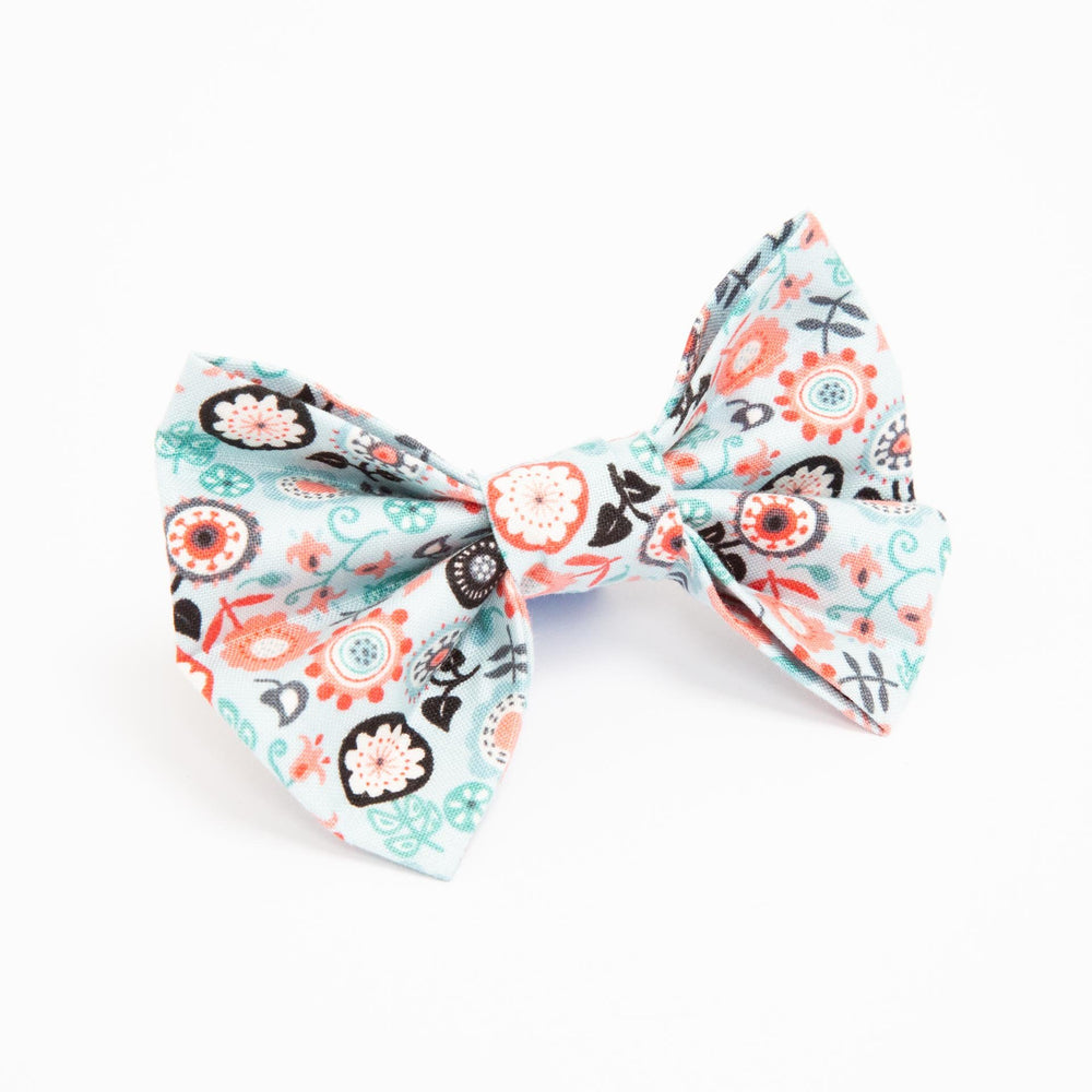 Ditsy Flower Bow