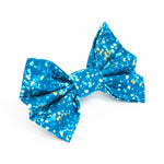 Blue Sparkle Bow