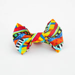 Bright Stripes Bow