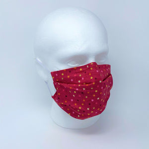 Christmas Cracker Pleated Face Mask