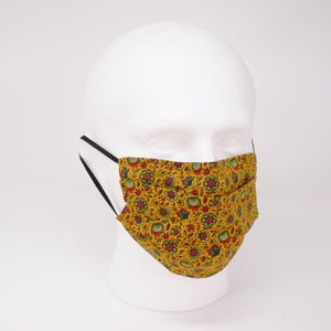 Thistle Pleated Face Mask