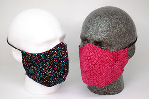 Dazzle Reversible Fitted Face Mask