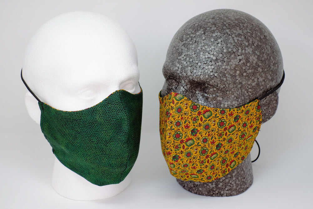 Thistle Reversible Fitted Face Mask