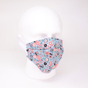 Ditsy Flower Pleated Face Mask