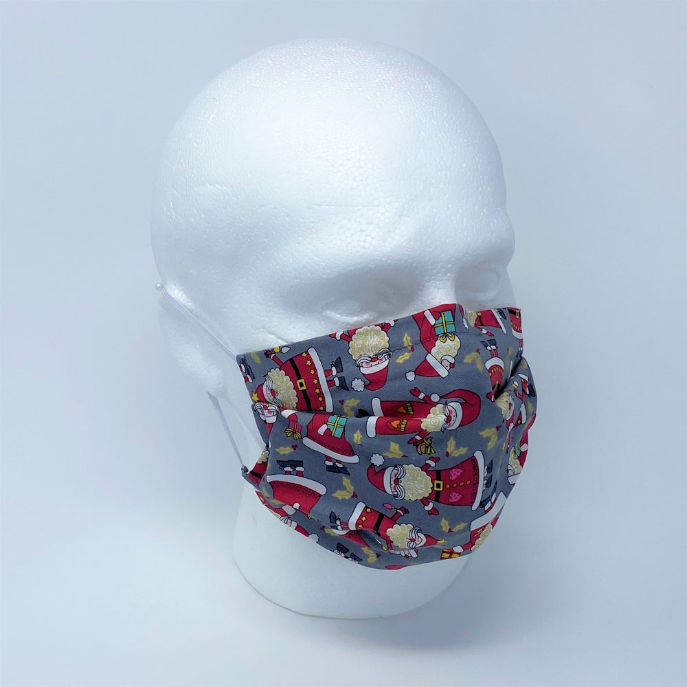 Father Christmas Pleated Face Mask