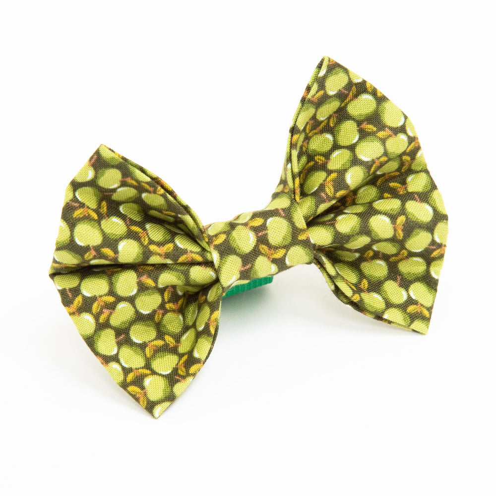 Green Apples Bow