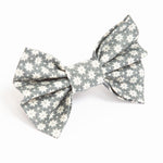 Scandi Winter Grey Bow