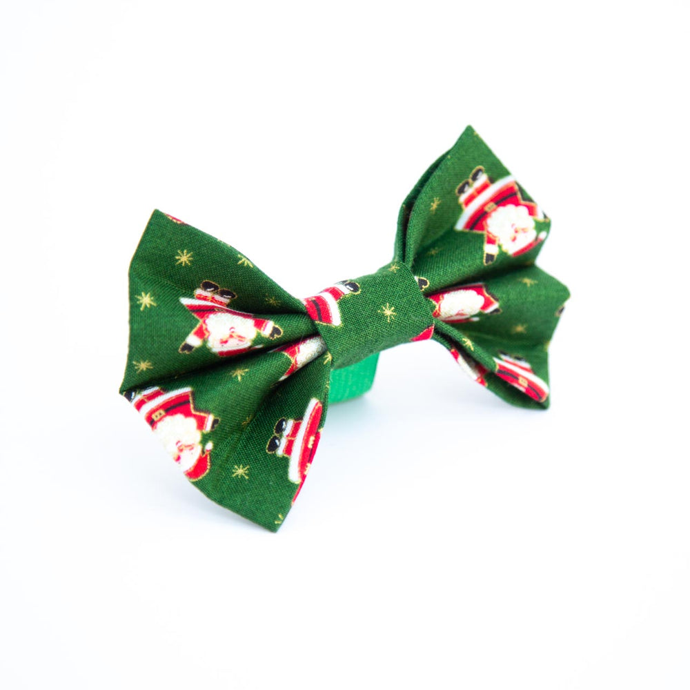 Happy Santa Bow
