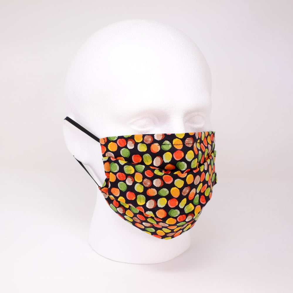 Jelly Tots Pleated Face Mask