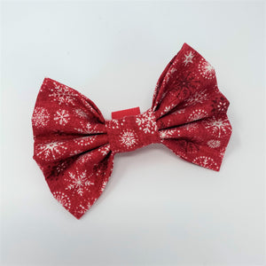 Let It Snow Red Bow