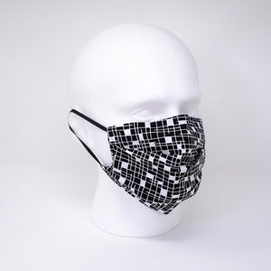 New York Pleated Face Mask