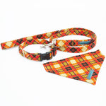 Orange Tartan  Set