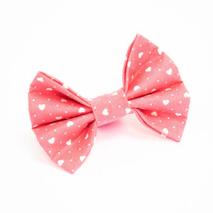 Pink Heart Beat Bow