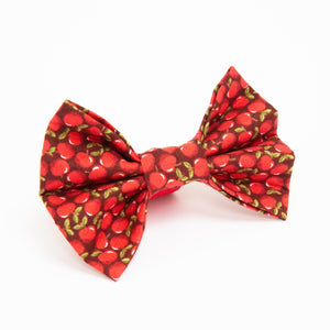 Red Apples Bow