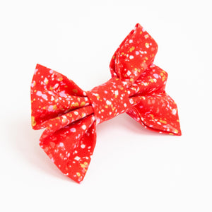 Red Sparkle Bow