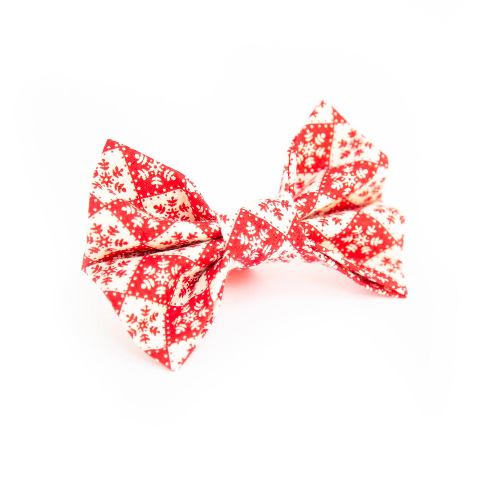 Snowflake Chessboard Bow