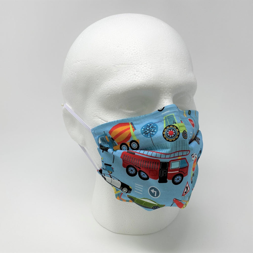 Transport Pleated Face Mask