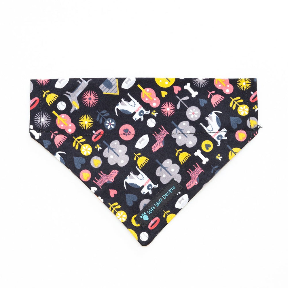 Black Dog Bandana