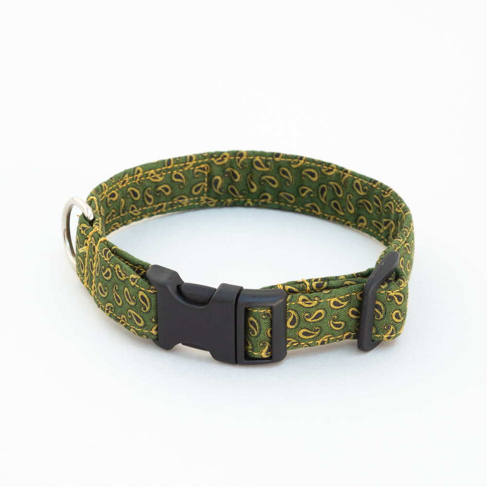 Green Paisley Collar