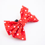 Red Heart Beat Bow