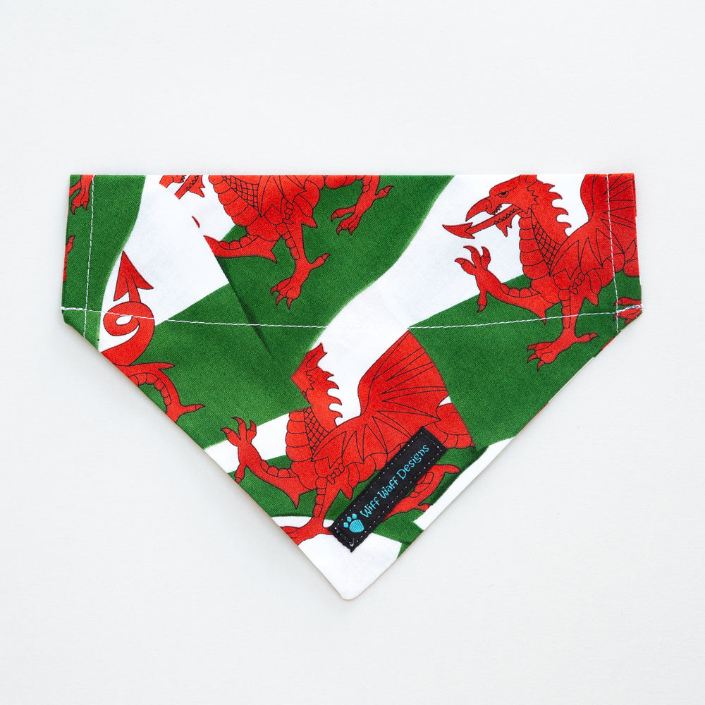 Welsh Flag Bandana