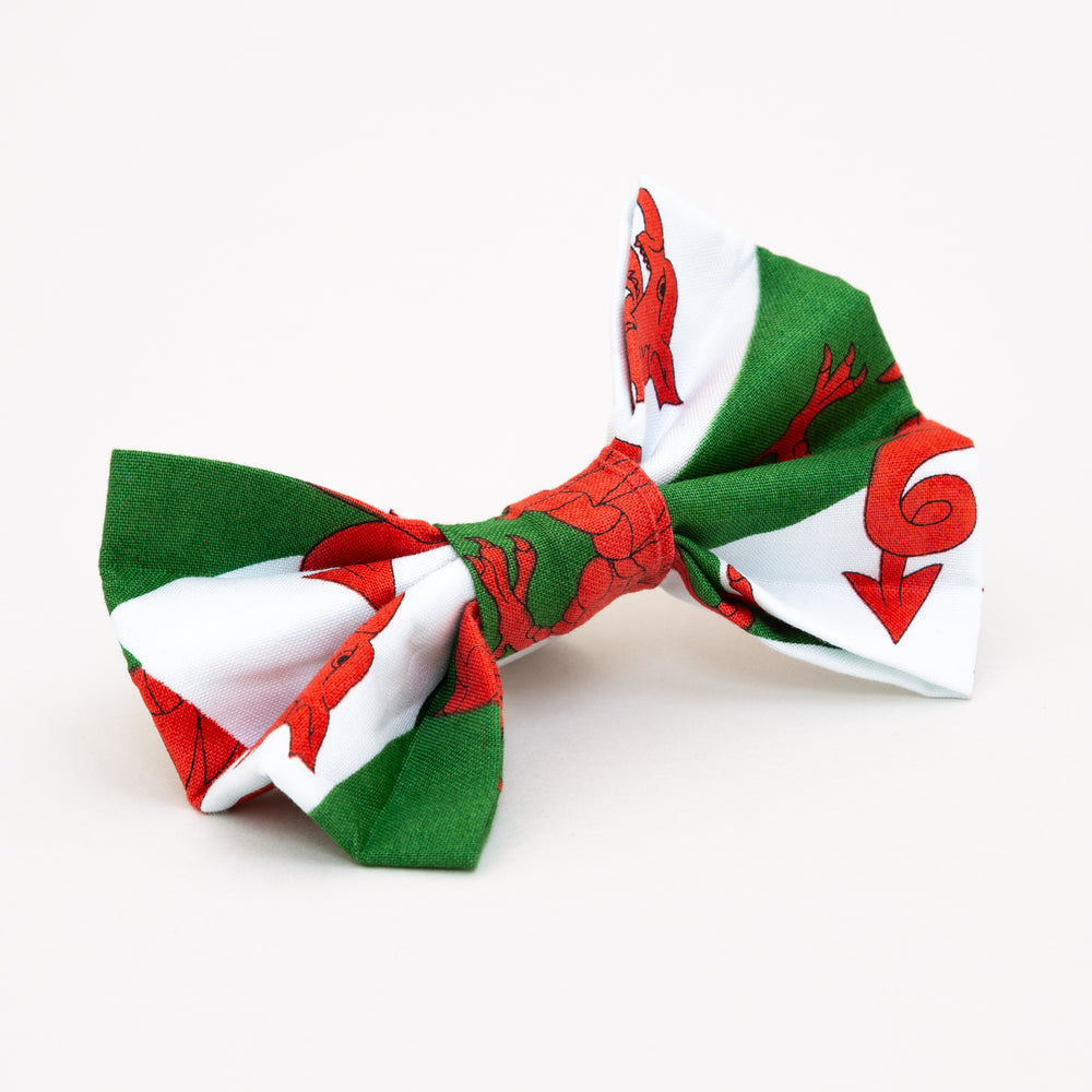 Welsh Flag Bow