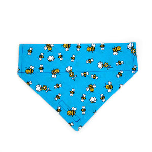 Bumble Bee Blue Bandana