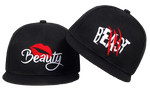Beauty & BEAST Snapback  Couple Lover