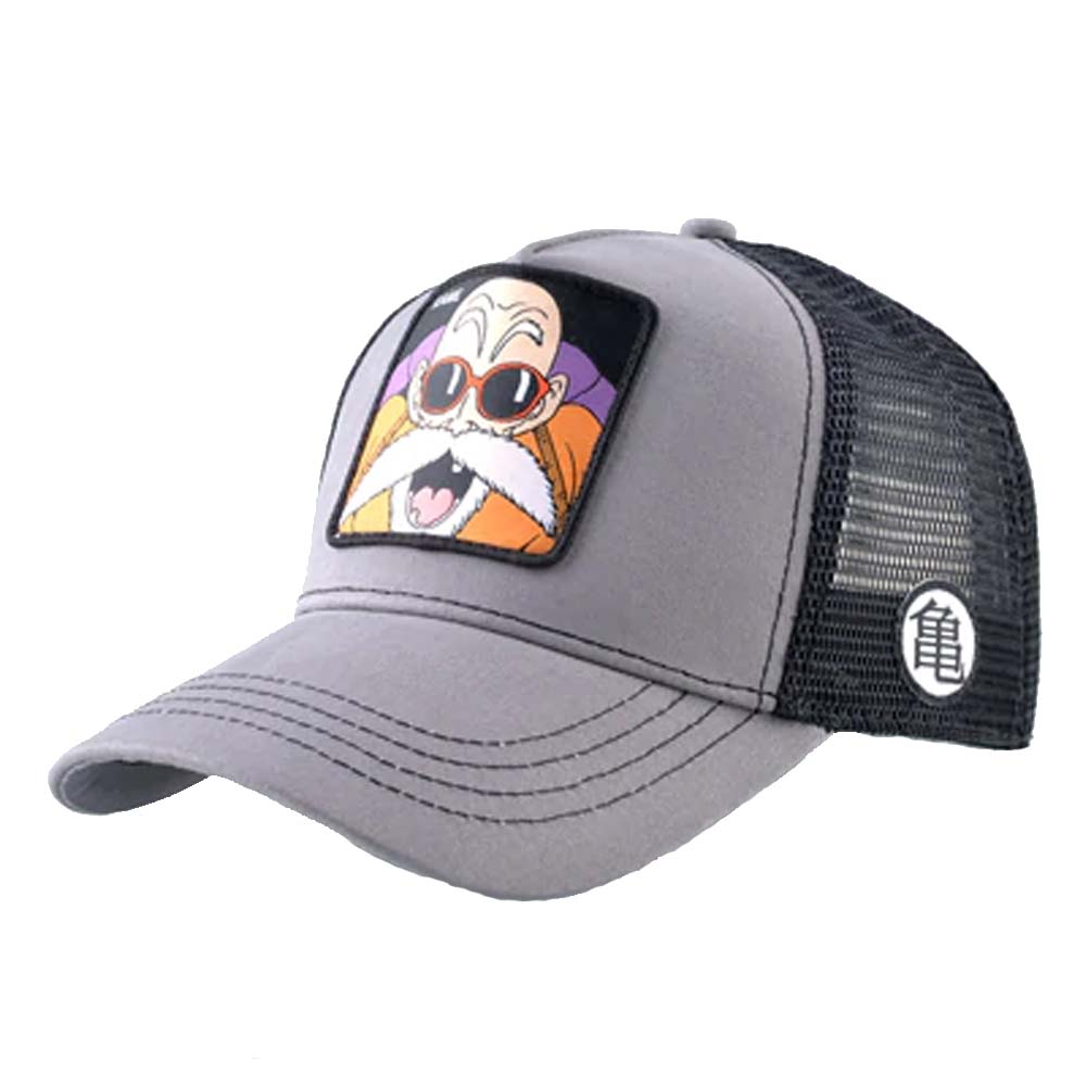 Dragon Ball Baseball Caps Summer Breathable Mesh Trucker