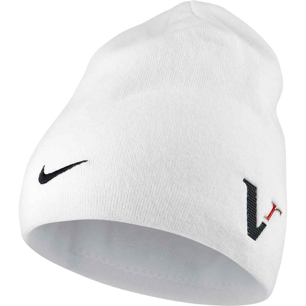 Nike White Tour Knit Cap | Premium Caps