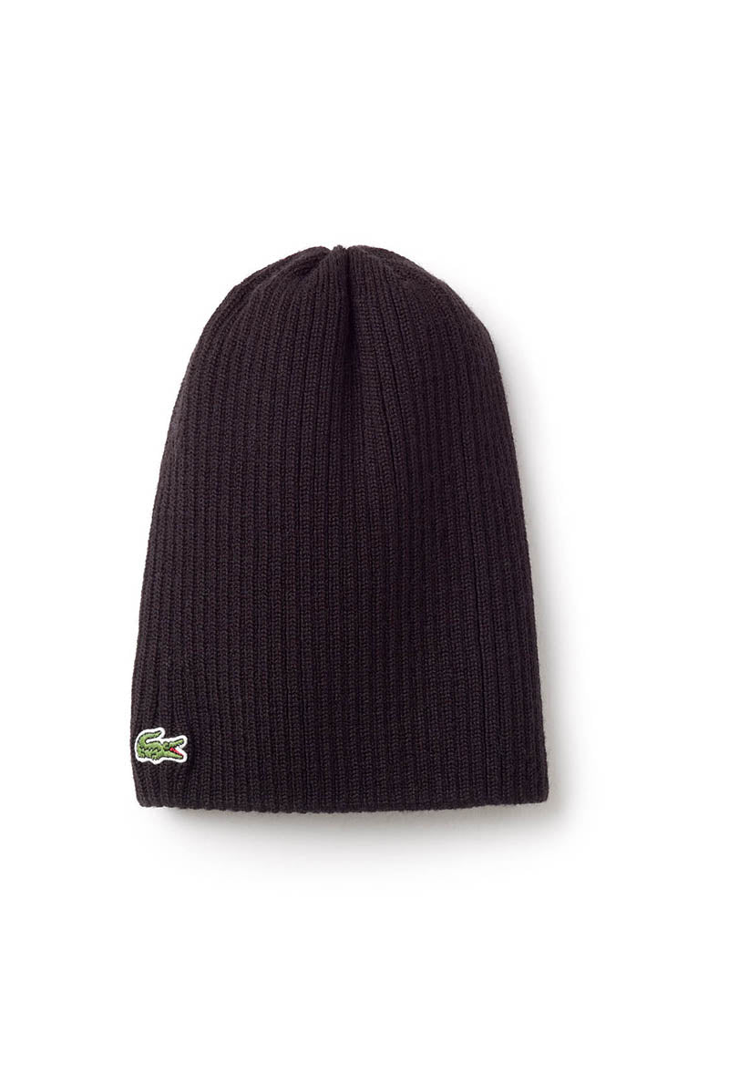 Ribbed Wool Beanie | Premium Caps