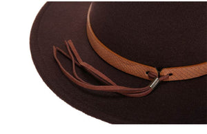 classical sombrero hairy headscarf imitation wool cap sunshade high quality