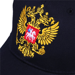 Russia Badge Embroidery Snapback with Patriot Hat bone