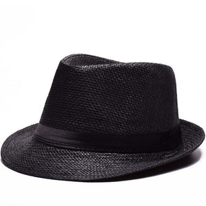 Breathable Panama Style  Sun Caps Outdoor Travel