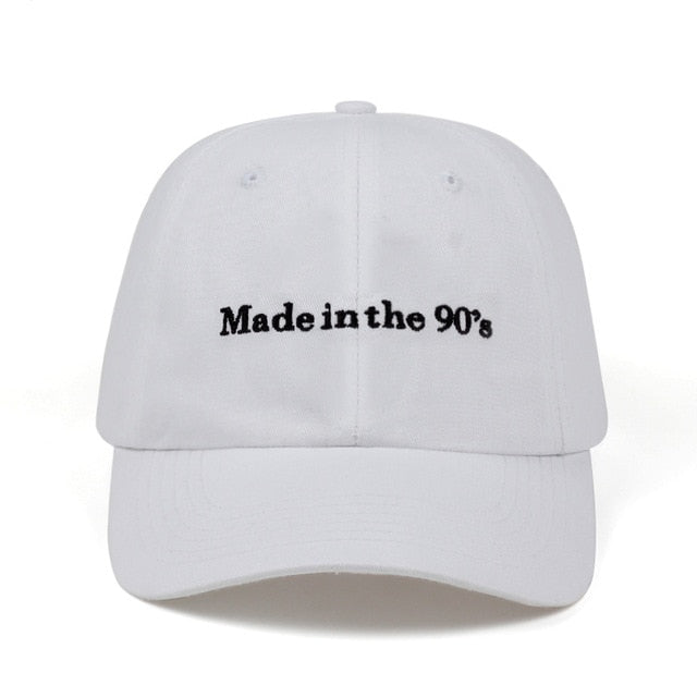 Made in the 90s Snapback Cap Cotton Baseball Cap For Men Women Hip Hop Dad Hat Bone Garros 2018 new