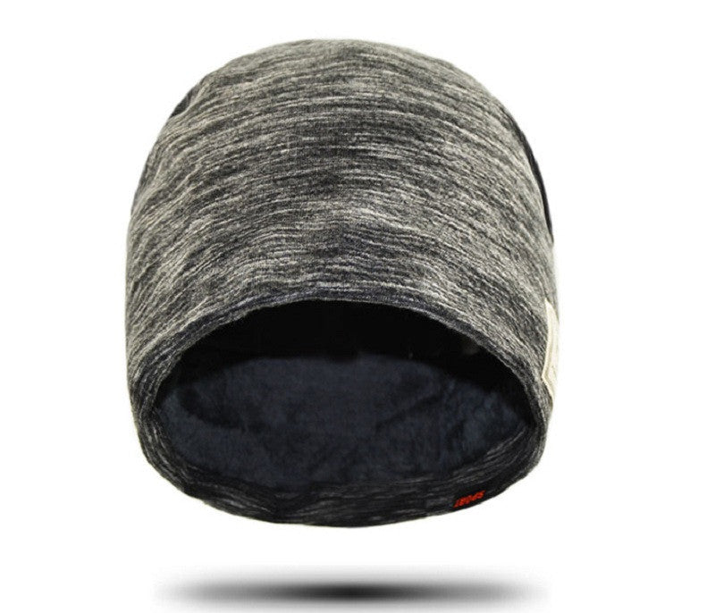 Baggy Winter Men Fleece Hat Skullies Beanies Knitted Caps Women Casual Knit Warm Cotton Hats