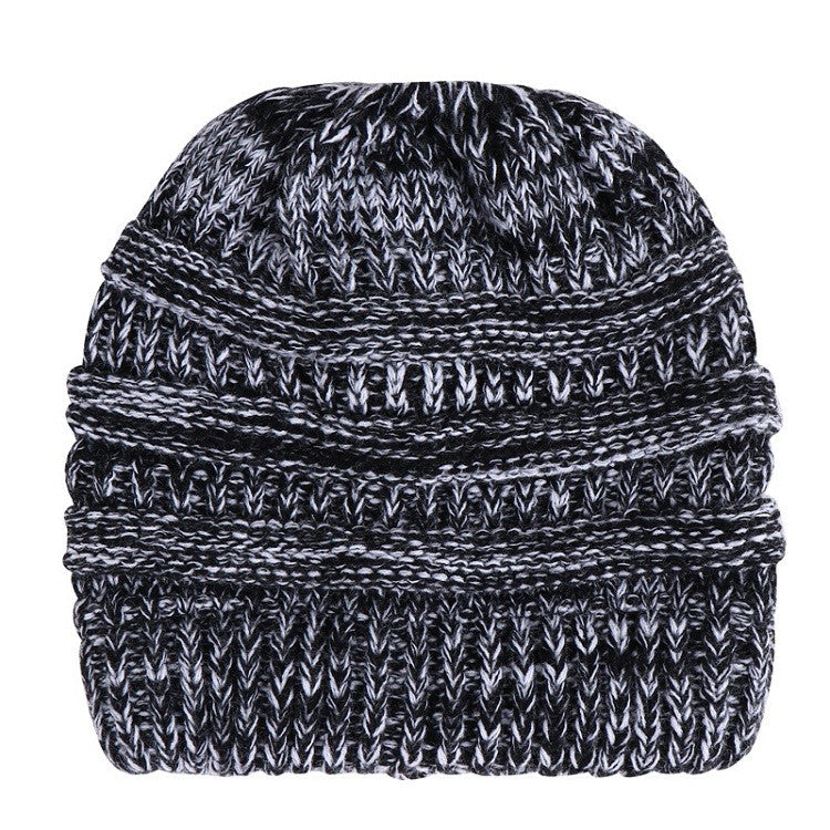 Ponytail Beanie  Skullies  Warm For Ladies