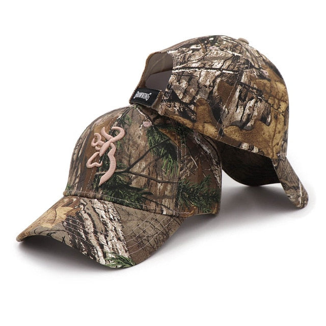 Camo Baseball Cap Fishing Outdoor Hunting