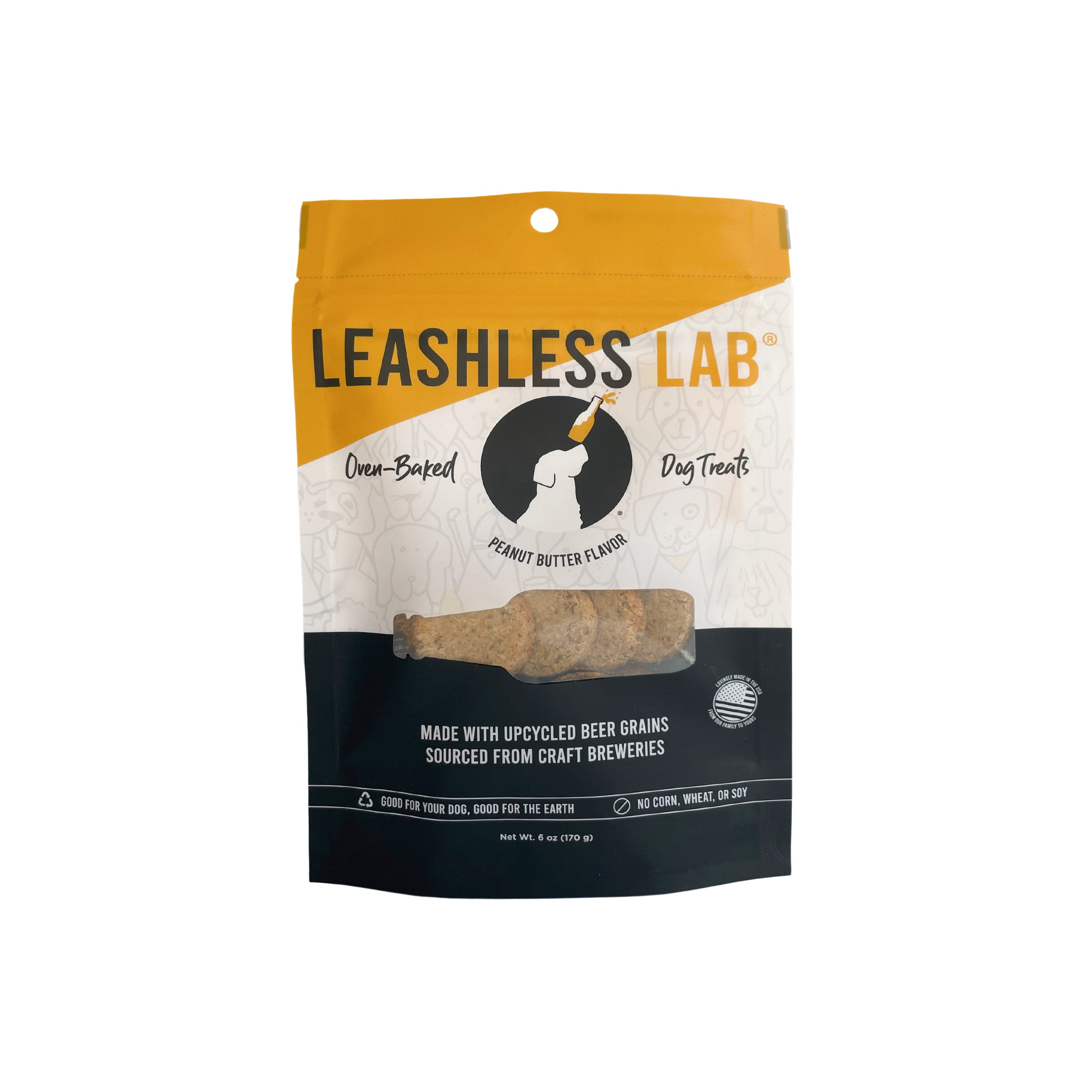 Leashless Lab Beer Grain Dog Treats
