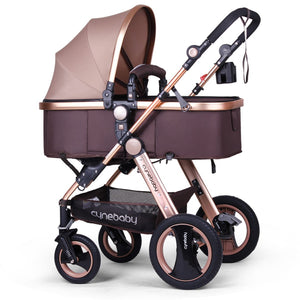 Infant Baby Stroller for Newborn and Toddler - Cynebaby Convertible Bassinet to Stroller Baby Carriage