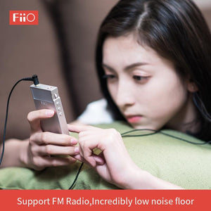 FiiO Metal Case M7 Bluetooth 4.2 aptX-HD TAAC Hi-Res Touch Screen LCD Mini Music MP3 play with FM Radio (Black / Red / Blue / Silver)