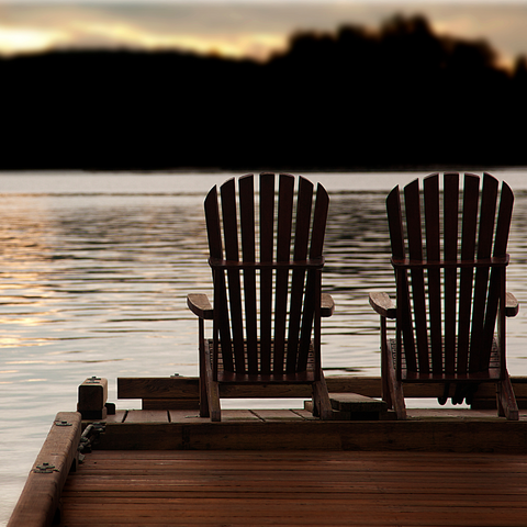 Peace, sit in silence, water, wellness, selfcare